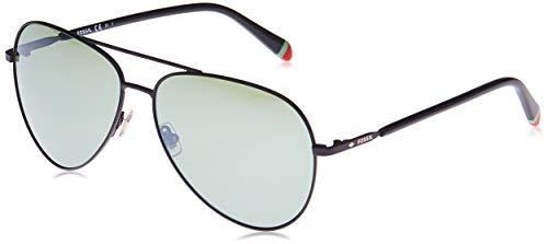 Fossil womens Fos3074s Sunglasses, Matte Black, 61 mm US