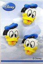 ディズニーボタン3個付き DW003 ドナルド