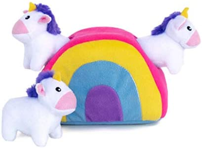 ZippyPaws - Cheap mail order specialty store Zippy Burrow Gorgeous Interactive Seek and Hide Squeaky Plush