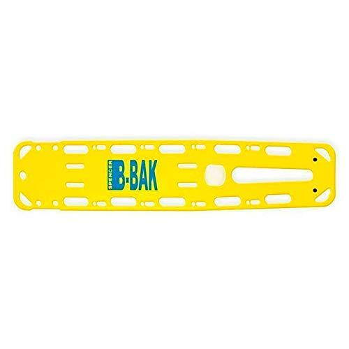 Spencer Spineboard B-Bak mit Pins, gelb