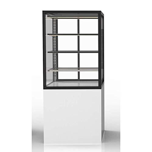 Vitrine Réfrigérée Vitrée avec Base Série Integra 3 Niveaux - 600x1400 mm - SAYL -
