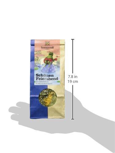 Sonnentor Schönen Feierabend-Kräutertee lose, 1er Pack (1 x 50 g) – Bio - 5