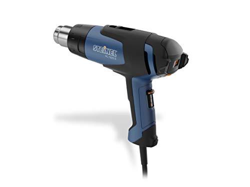 Steinel 352103 Heißluftpistole HL 1920 E, 2000 WHeißluftfön,Temperaturstufenlosvon80°-600°C,Luftmengein3Stufen,Schwarz-blau