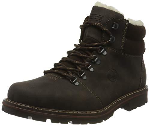 Rieker Herren 37733 Mode-Stiefel, braun, 45 EU