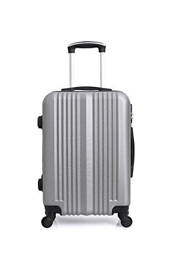 Hero Lipari Suitcase, 66 cm, 60 liters, Grey (Gris)