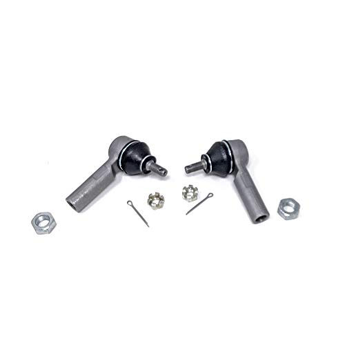 Godspeed SB-TR-AR02-10-B Extended Tie Rod Ends, Cast Iron, Pillow Ball Joint, compatible with Honda Civic Si 2002-05