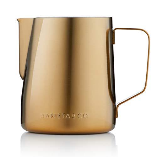 Barista & Co BC046-029 Milchkrug, edelstahl, gold