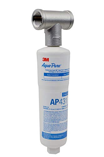 3M Aqua-Pure Whole House Scale Inhibition Inline Water System AP430SS, Helps Prevent Scale Build Up On Hot Water Heaters and Boilers