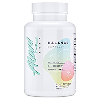 Alani Nu Hormonal Balance Vitamin Supplement for Women Weight Management and Clear Complexion 30 Servings  Packaging May Vary