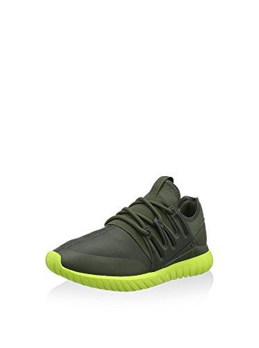 adidas Herren Tubular Radial Sneaker, dunkelgrün, 40 2/3 EU