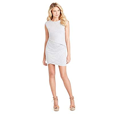 Jessica Simpson Women's Kamila Jersey Bodycon Dress, Light Heather Grey, Medium