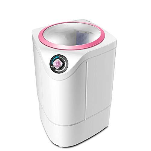 DAETNG Mini Lavadora portátil para Ropa compacta, Capacidad de Carga de 5.5 kg, Control de Temporizador y bañera translúcida, Apartamentos, Casas rodantes y Espacios pequeños,C