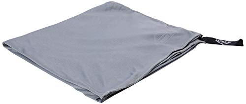 McKINLEY Microfiber Lt Unisex Handtuch, Grey Dark, 4