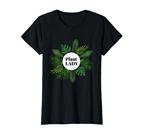 Damen Plant Lady, Pflanzen Fan, Monstera, Zimmerpflanzen T-Shirt