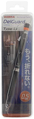 Zebra, Delguard, Portamine, per mine da 0,5mm, colore nero (P-MA86-BK)