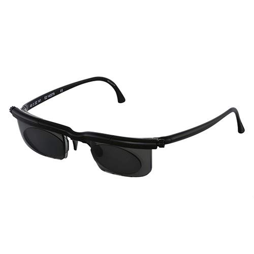 Dial Vision Sunglasses, Adjustable Lenses from -6D to +3D Power