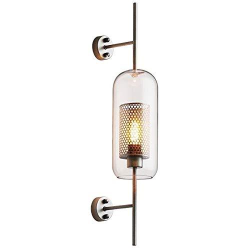 Netwerk Raster Glazen Wandlamp, Goud Minimalistische Retro Industriële Stijl Geschikt Voor Het Decoreren Van Woonkamer, Slaapkamer, Eetkamer, Studeerkamer, Spiegel Voorlicht,XL