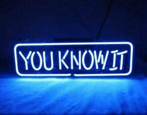 Amymami Beer Very popular Bar Max 54% OFF You Know It Neon 14inx8in Sign Bri Lamp Acrylic