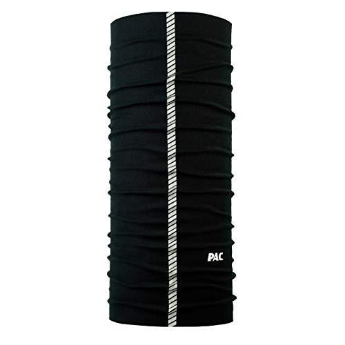 P.A.C. Reflector Multifunktionstuch - Outdoortuch, Halstuch mit Reflektor, Schlauchtuch, Schal, Kopftuch, Stirnband, verschiedenste Designs, Unisex, 10 Tragevarianten