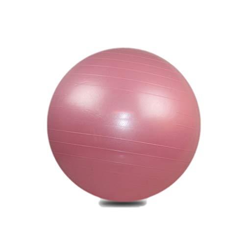 HSJ WDX- Bola de Yoga Bola de Fitness Engrosada a Prueba de explosiones pérdida de Peso Equilibrio niño Embarazada Parto partera Bola Peso Suelto (Color : Pink, Size : 65cm)