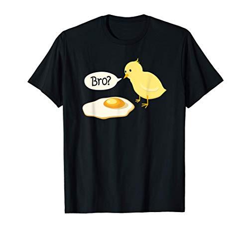 Chick and Fried Egg Bro ¿eres la idea de regalo de Pascua? Camiseta