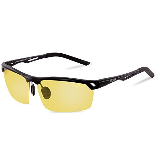 DUCO Men's Polarized Sunglasses for Men Sports Driving Cycling...
