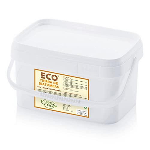ECO Tierra de Diatomeas® Micronizada 1kg - 100% Natural y Ecológico - Grado alimenticio E551c. No calcinada, sin aditivos.