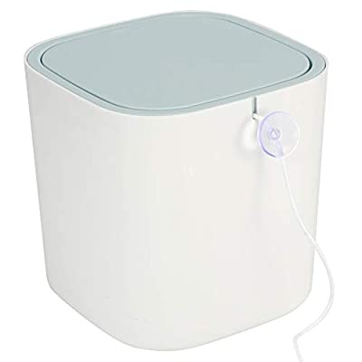 Spiral Washing Electric Washing Machine, High Capacity Laundry Washer, Cleaning Underwear and Baby Clothes for Home White