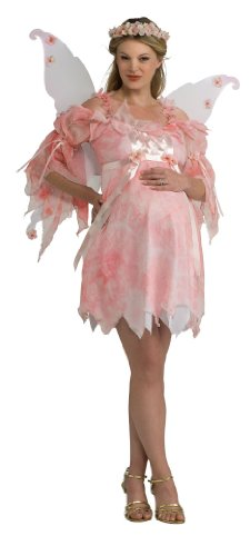 Rubie's Mommy To Be Maternity Fairy Costume, Pink, One Size