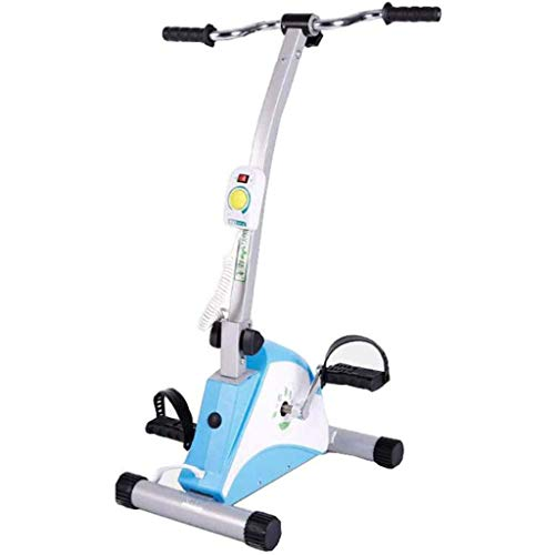 Lowest Price! YDHBD Electric Folding Exercise Bike, Pedal Exerciser Bicycle for Elderly Upper and Lo...