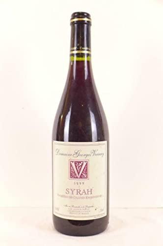 VDP des colllines rhodaniennes georges vernay syrah rouge 1999 - rhône