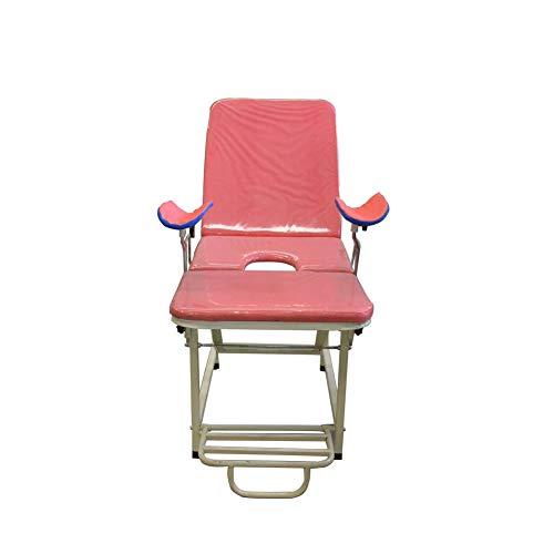 DZWJ Ärztlicher Untersuchungsstuhl Klapppflegebett Schönheitssalon Massagebett tragbarer gynäkologischer Untersuchungsstuhl Medizinischer Stuhl