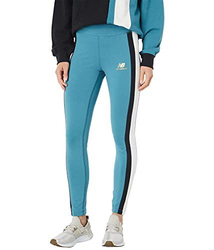 New Balance Athletics Higher Learning Legging Leggings, Diseño Marino, S para Mujer