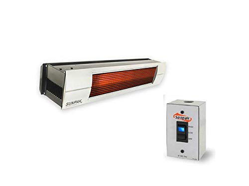Review Quality Brand Company Sunpak Two Stage Hardwired S34 B TSH LP 12020 SS (25,000 BTU and 34,000...