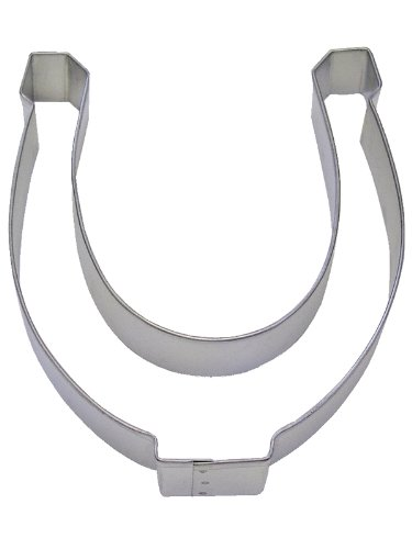 R&M Horseshoe 5 Cookie Cutter in Durable, Economical, Tinplated Steel