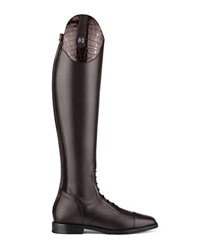 Cavallo Reitstiefel Linus Jump Lack + Strass, Allrounder, Springstiefel Schwarz, Schuhgröße:5-5.5 H50 W35