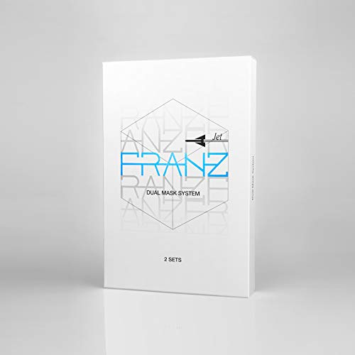 FRANZ - die weltweit erste Microstrom-Gesichtsmaske für zu Hause, klinisch bewiesene Anti-Aging-Wirkung - für straffere, glattere und strahlendere Haut 2 St.