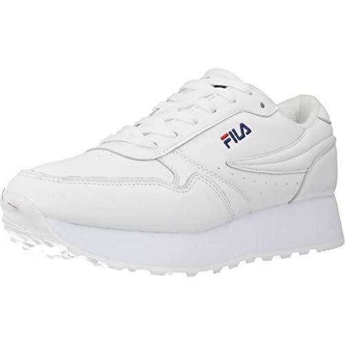 FILA Orbit Zeppa L wmn zapatilla Mujer, blanco (White), 40 EU