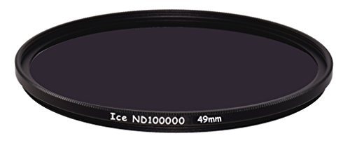 ICE 49mm ND100000 Optical Glass Filter Neutral Density 16.5 Stop ND 100000 49