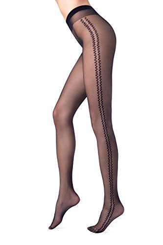 Conte® FANTASY-LINE Sexy dames panty panty panty in verschillende patronen - (vertrouwen in textiel volgens Öko-Tex Standard 100)