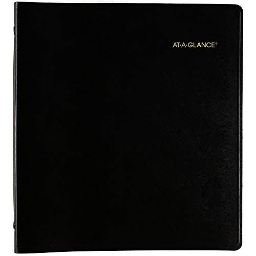 2021-2025 Planner by AT-A-GLANCE 5 Year Monthly Planner 9 x 11 Large Black 702960521