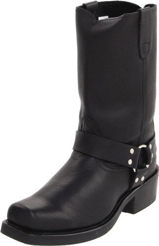 "Durango Men's DB510 11"" Harness Boot Oiled Black 10 D - Medium"