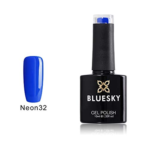 Esmalte de uñas neón Bluesky número 32