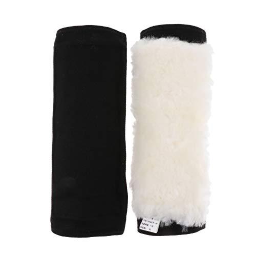 P Prettyia 1 Paar Winter Warme Knieschoner Wolle Kniebandage Knieunterstützung Thermische Kniewärmer für Damen und Herren - L