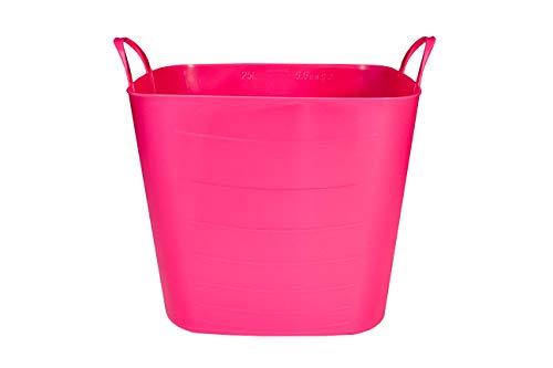 SP Berner Life Story-Barreño Grande | Cubo de Plastico con Asas-40 litros-Rosa, 40 L