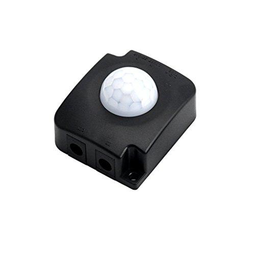 ATATMOUNT Automatic DC 12V 24V 10A Infrared Body PIR Motion Detector Sensor Switch