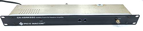 Fantastic Prices! Pico Macom CA-45RK550 550 MHz Push Pull Headend Amplifier (IMI- 1125042157822)