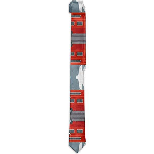 Accesorios de corbata de hombre de moda, regalo de corbata de camioneta...