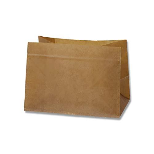 ヘイコー 紙袋 ロー引き袋 角底 W-0.5 20枚 120×80mm 20枚 008735307