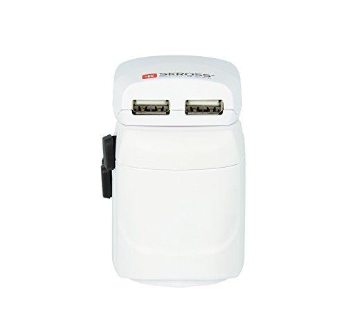 Skross ZUB-SKR-WAD-PROUSB.W mit Ladegeräte Pro USB weiß